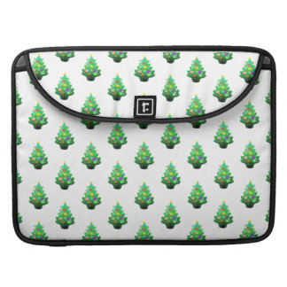 少しクリスマスツリーパターン MacBook PROスリーブ