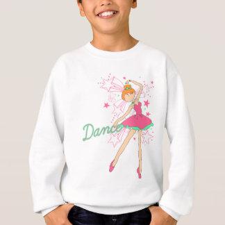 少しジャズ風のバレエダンサー スウェットシャツ
