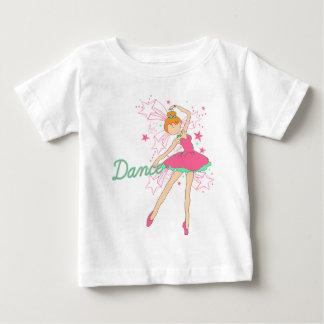 少しジャズ風のバレエダンサー ベビーTシャツ