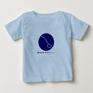 少しディッパーの乳児 ベビーTシャツ