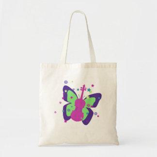 少しバイオリンの蝶トートバック トートバッグ