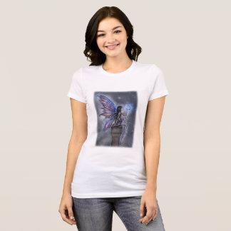 少しブルームーンの魔法の妖精のファンタジーの芸術 Tシャツ