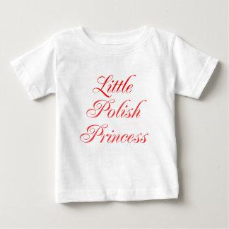 少しポーランドのプリンセス ベビーTシャツ
