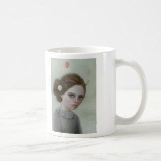 少し上昇 コーヒーマグカップ