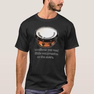 少し圧縮 Tシャツ