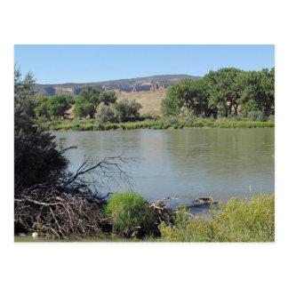 少し塩の洗浄入り江の郵便はがきのコロラド川 ポストカード