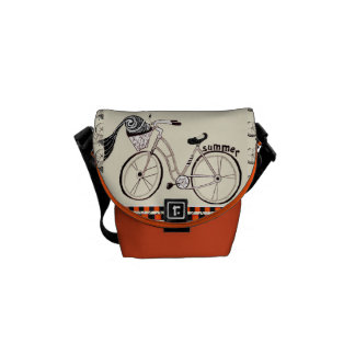 少し夏の自転車 メッセンジャーバッグ