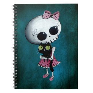 少し失敗の死-ハロウィンの美しい ノートブック
