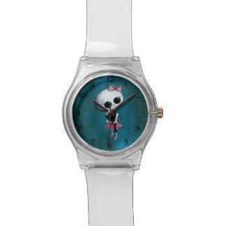 少し失敗の死-ハロウィンの美しい 腕時計