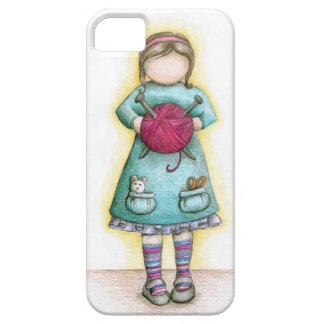 """""""少し失敗Knittie""""のiPhoneの場合 Case-Mate iPhone 5 ケース"""