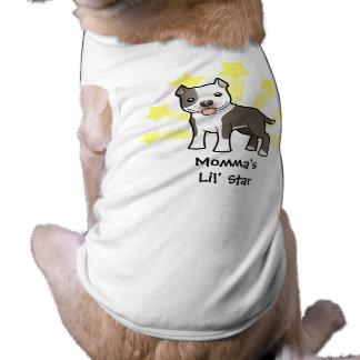 少し星のピットブルかアメリカ(犬)スタッフォードテリア ペット服