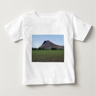 少し火山 ベビーTシャツ