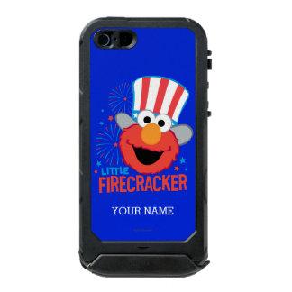 少し爆竹Elmoは|あなたの名前を加えます ウォータープルーフiPhone SE/5/5sケース