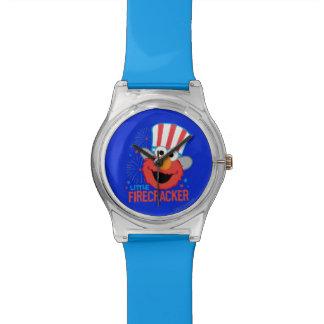 少し爆竹Elmo 腕時計