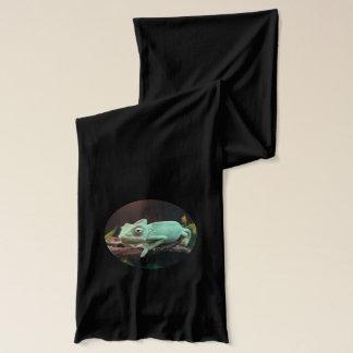 少し緑のChamleon スカーフ