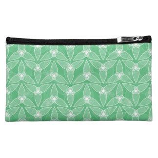 少し葉の化粧品のバッグ-ミント コスメティックバッグ
