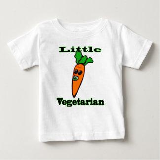少し野菜の乳児のTシャツ ベビーTシャツ
