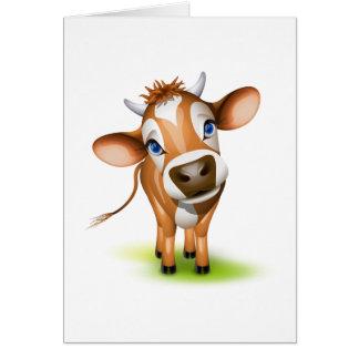 少しjersey牛 カード