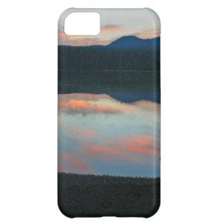 少しlava湖、オレゴンの日の出 iPhone5Cケース