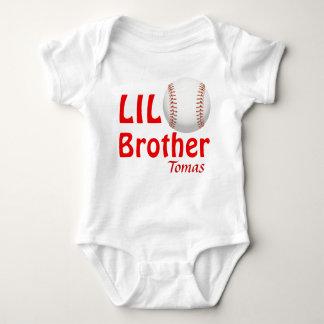 少しLilのお兄さんまたはいとこまたは姉妹の野球 ベビーボディスーツ