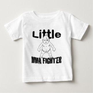少しMMAの戦闘機の武道のベビー ベビーTシャツ