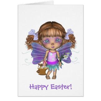 少しOddlingsの虹の妖精のイースターカード魅了される カード