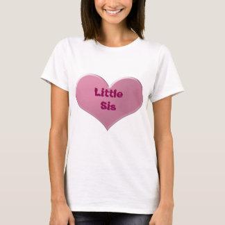 少しSisのTシャツは大きい、中間、ベビーSis忘れません Tシャツ