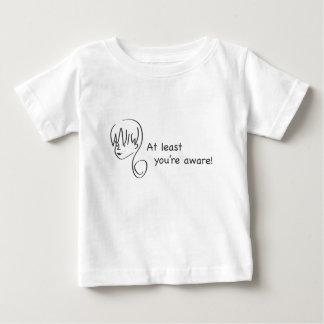 少なくともあなたはわかっている幼児のTシャツ ベビーTシャツ