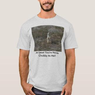 少なくともあなたは私ぽっちゃりした!!! Tシャツ