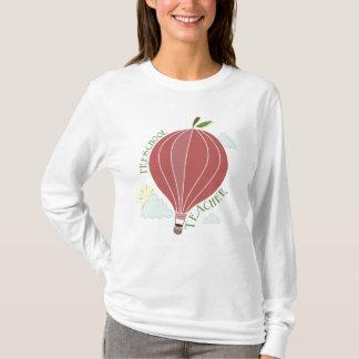 就学前の先生の熱気の気球Apple Tシャツ