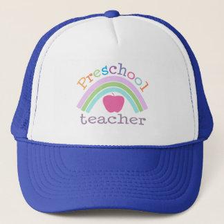 就学前の先生の虹 キャップ