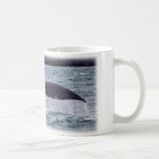 尾のクジラ コーヒーマグカップ