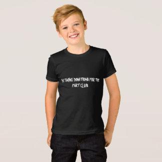 屁のための寄付を取ってアメリカ人素晴らしいjを協力させて下さい tシャツ