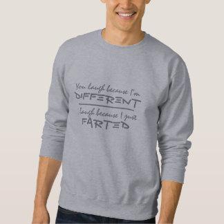 屁のユーモアのワイシャツ及びジャケット スウェットシャツ