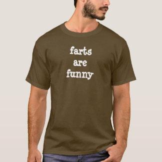 屁はおもしろいです Tシャツ