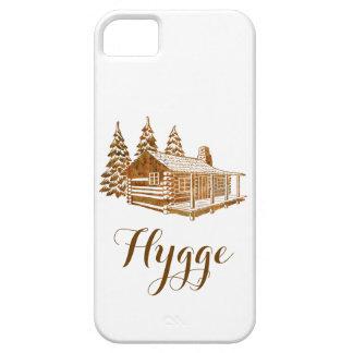 居心地のよい丸太小屋- Hyggeかあなた自身の文字 iPhone SE/5/5s ケース