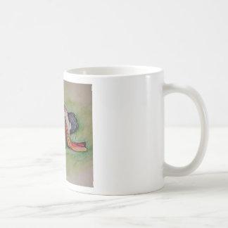 居眠りのバセットの猟犬 コーヒーマグカップ