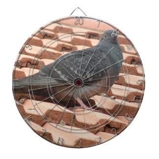 屋上ハト投げ矢板 ダーツボード