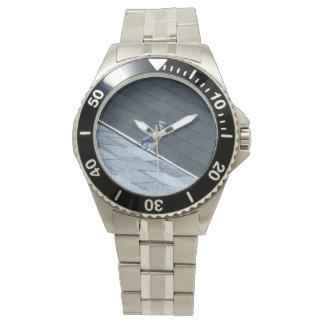 屋上1のアオカケス 腕時計