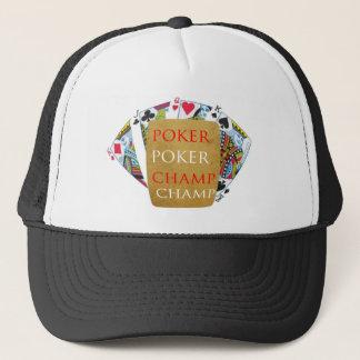 屋内ゲーム-トランプのポーカーのチャンピオン キャップ