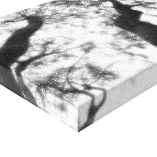 """屋外の写真撮影14"""" x 11""""、1.5""""、独身の キャンバスプリント"""