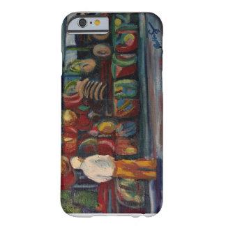 屋外の市場の油絵 BARELY THERE iPhone 6 ケース