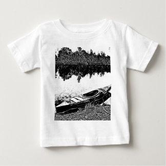 屋外の平静-カヤックの調査 ベビーTシャツ