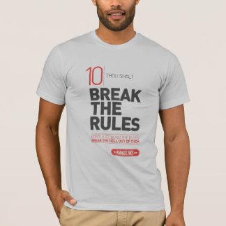 屋外広告のワイシャツ#10の10の命令 Tシャツ