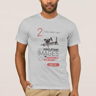 屋外広告のワイシャツ#2の10の命令 Tシャツ