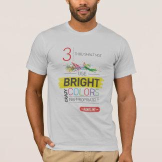 屋外広告のワイシャツ#3の10の命令 Tシャツ