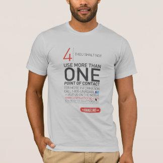 屋外広告のワイシャツ#4の10の命令 Tシャツ