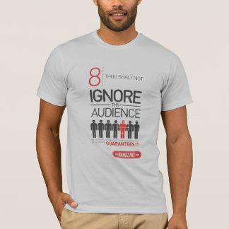 屋外広告のワイシャツ#8の10の命令 Tシャツ