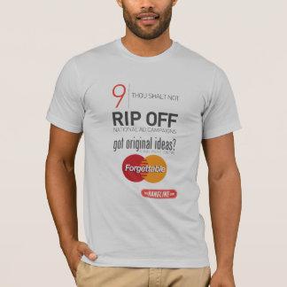 屋外広告のワイシャツ#9の10の命令 Tシャツ