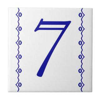 屋家番号のタイル タイル